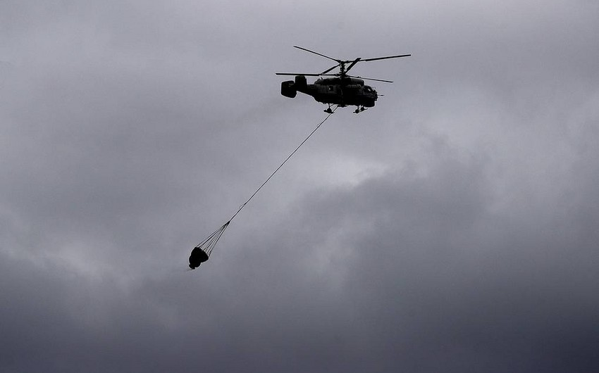 Rusiyada helikopter qəzası baş verib, ölən var