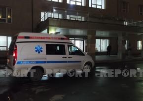 Nizami rayonunda sərnişin avtobusu piyadanı vurdu
