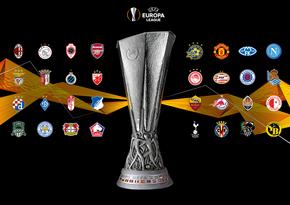 Лига Европы: Станут известны все пары 1/16 финала