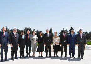Ильхам Алиев принял верительные грамоты послов-нерезидентов десяти стран - ОБНОВЛЕНО