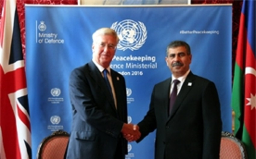 Azerbaijan and United Kingdom discussed military cooperation