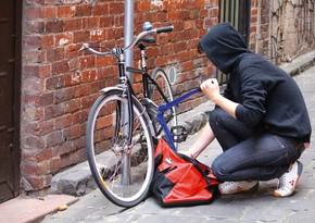 Bakıda2 min manatlıq velosipedlər oğurlanıb