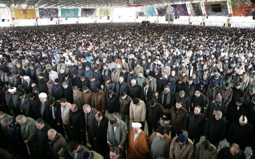 İranın 23 əyalətində cümə namazı ləğv edildi