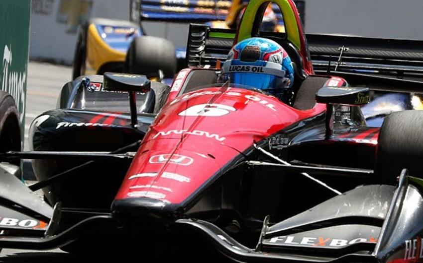 IndyCar seriyalı avtomobil yarışında kütləvi qəza baş verib - VİDEO