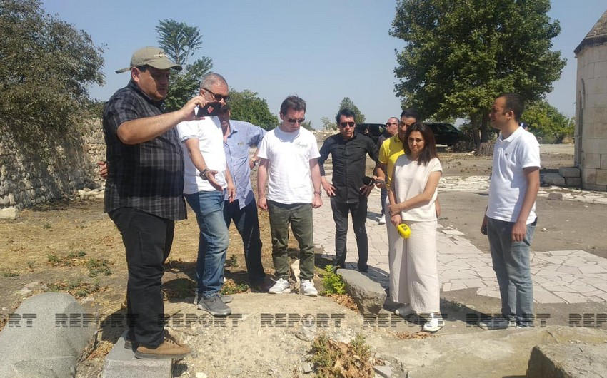 Group of journalists from Latin American countries visits Aghdam