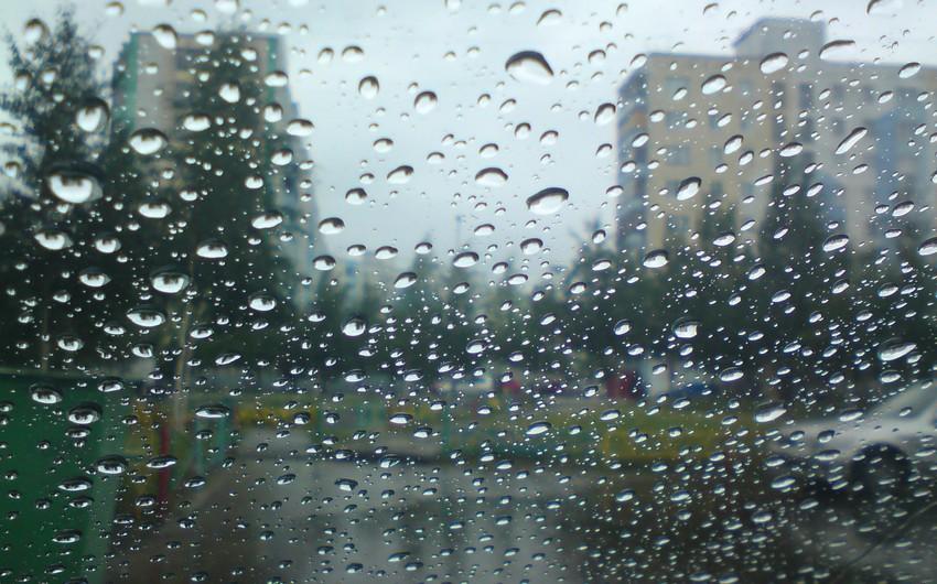 Sabah Azərbaycan ərazisində yağışlı hava şəraiti davam edəcək