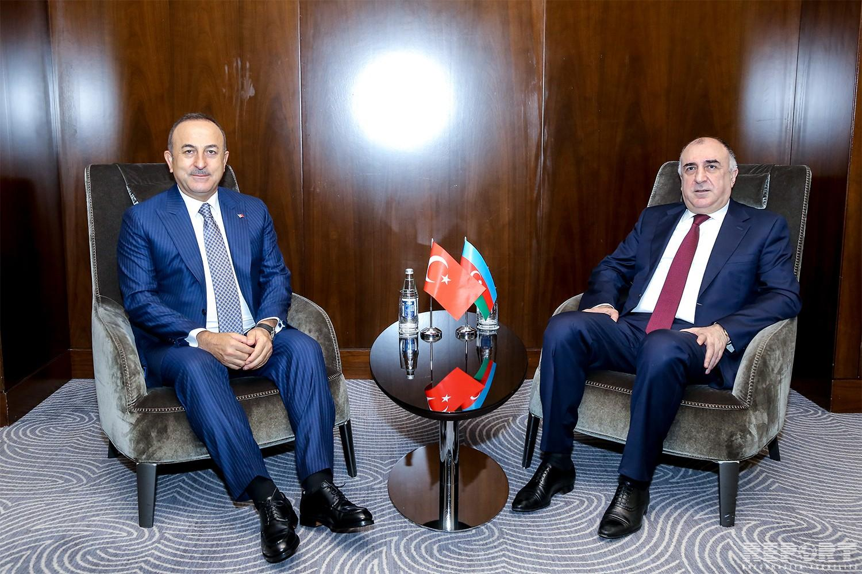 Состоялась встреча между главами МИД Азербайджана и Турции