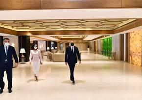 Президент ознакомился с условиями, созданными после реконструкции во дворце Гюлистан