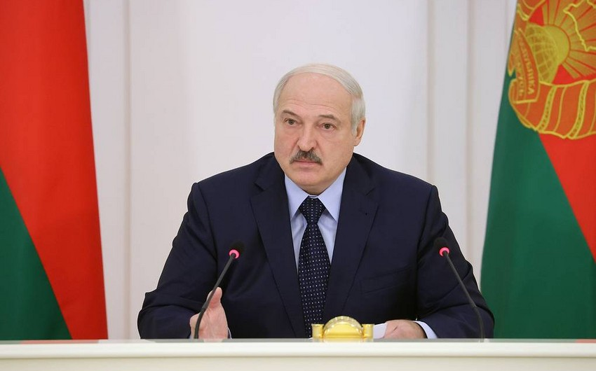 Lukaşenko Ukrayna ilə sərhədi bağlamağı tapşırdı