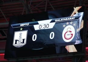 Завершился матч Нефтчи - Галатасарай