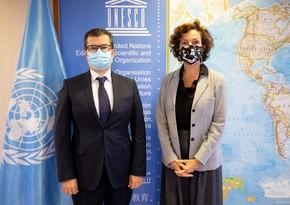 Azərbaycan səfiri etimadnaməsini UNESCO-nun Baş direktoruna təqdim edib