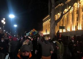 Tbilisidə itaətsizlik yürüşü keçirilir