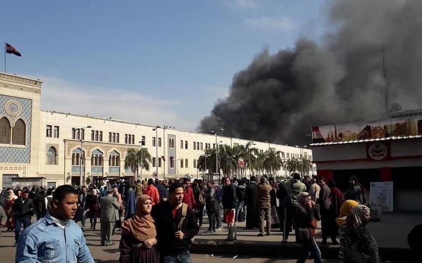 Возросло число погибших в результате сильного пожара на вокзале в Египте - ФОТО - ОБНОВЛЕНО - ВИДЕО