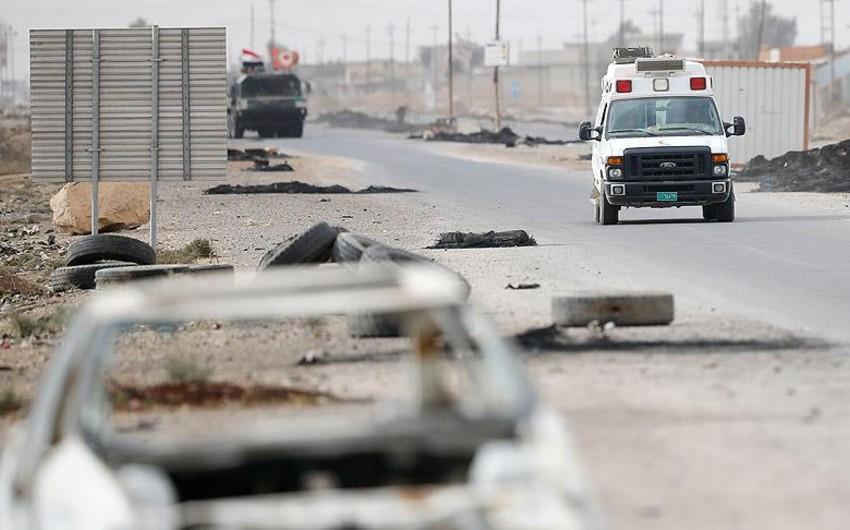 İraqda İŞİD-in törətdiyi terror aktlarında 10 hərbçi həlak olub