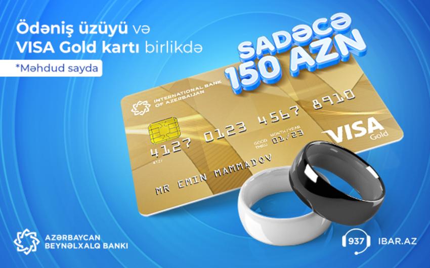 İki dəfə ucuz qiymətə ödəniş üzükləri!