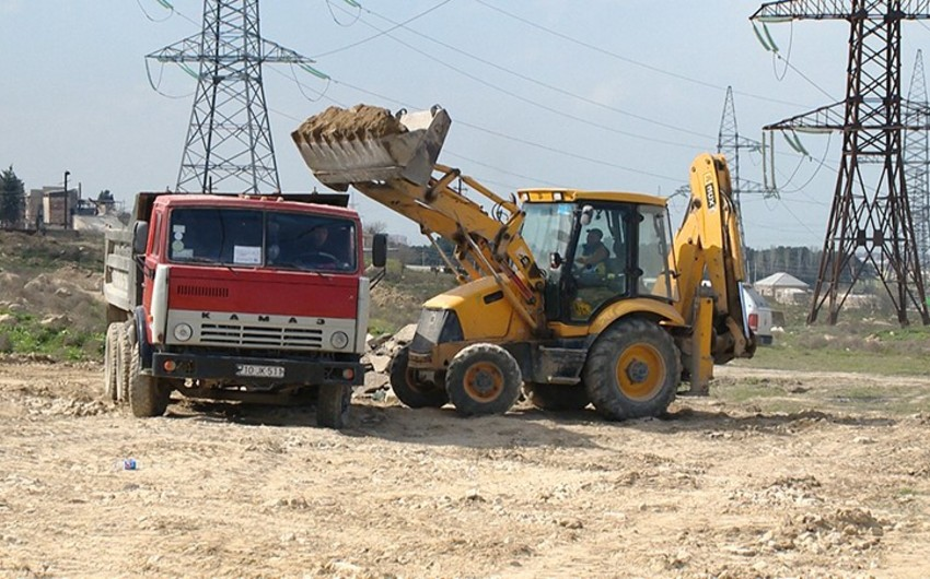 Ramana-Maştağa avtomobil yolunun tikintisinə başlanılıb