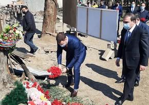 Ukraynalı nazir: Azad olunmuş ərazilərin bərpasına dəstək verməyə hazırıq