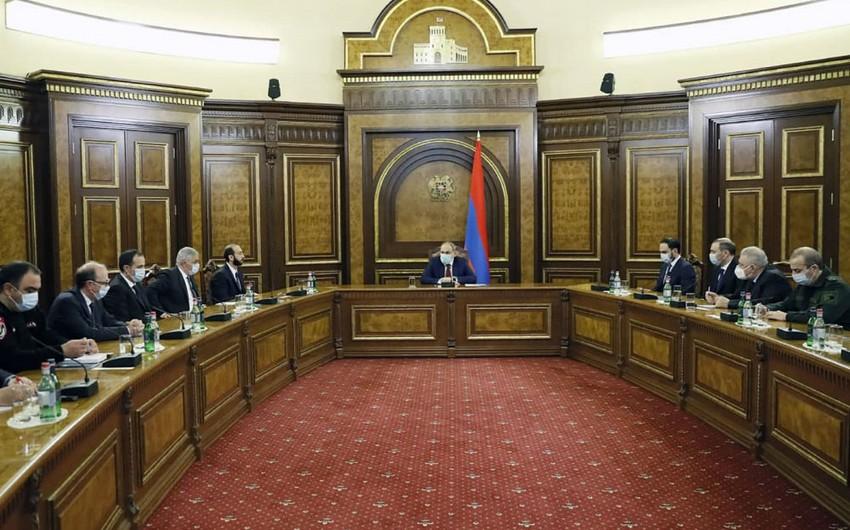 Ermənistan prezidenti Təhlükəsizlik Şurasının iclasına qatılmadı