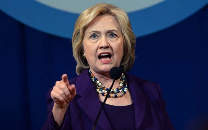 Hillari Klinton: Tramp ABŞ-ı müflis edəcək