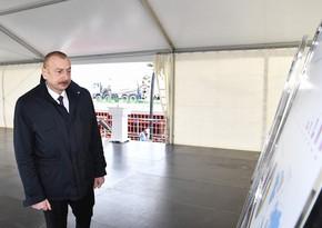 Dövlət başçısı: Sənaye, kənd təsərrüfatı, qeyri-neft sektoru, ixrac imkanları, idxaldan asılılığın azaldılması yeni reallıq yaradıb