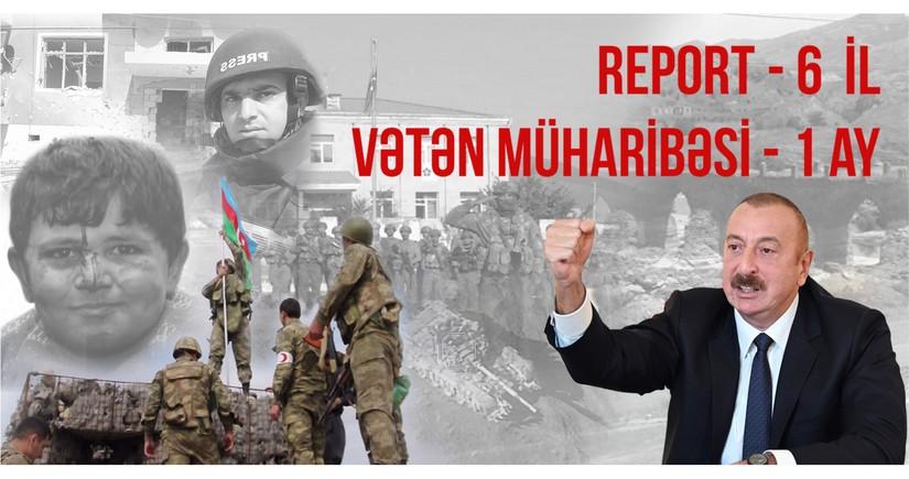 """""""Report"""" - 6 yaş: əsrə bərabər ayın hesabatı"""
