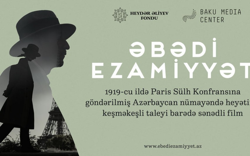 '​Lifelong Mission' documentary wil be presented with support of the Heydar Aliyev Foundation