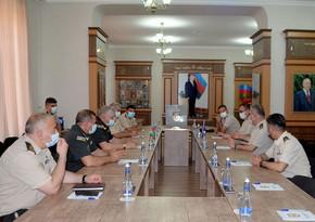 Делегация Командования сухопутных войск НАТО побывала в Военной академии