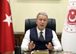 Министр обороны Турции направил письмо семье азербайджанского шехида