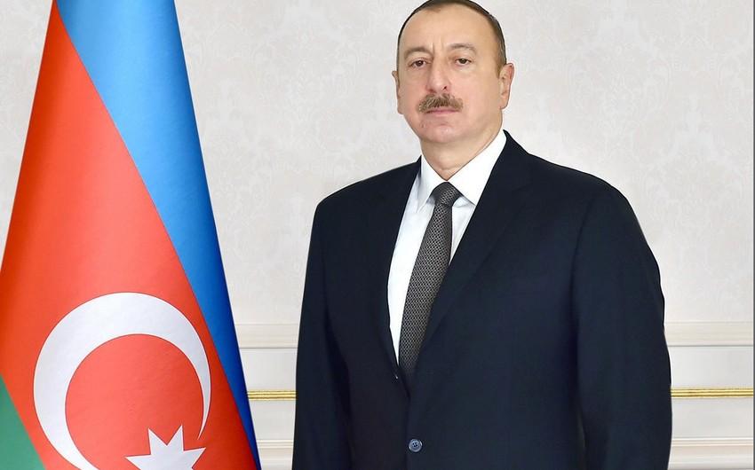 Azərbaycan Prezidenti Əfqanıstanın dövlət başçısına məktub göndərib
