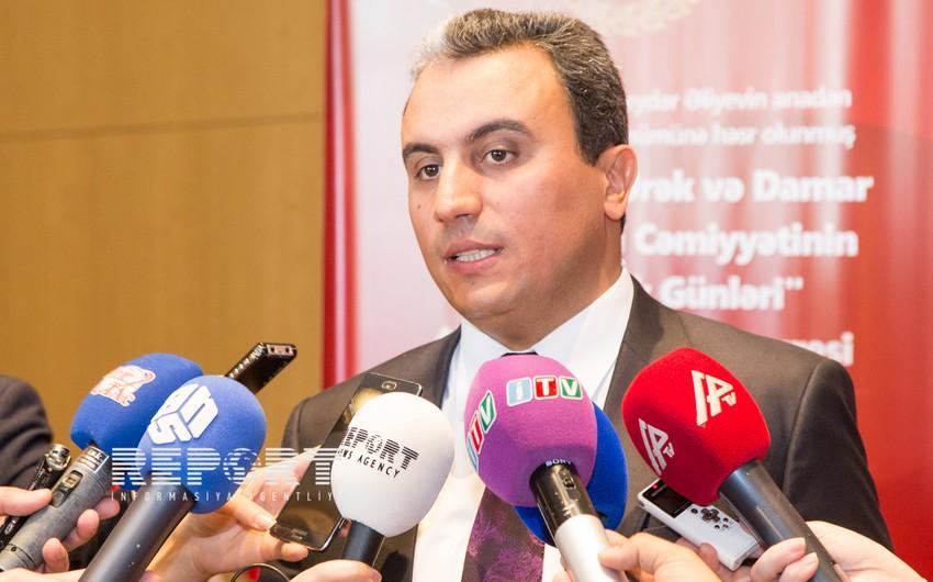 Kamran Musayev: Keçən il Mərkəzi Klinik Xəstəxanada 1000 ürək əməliyyatı aparılıb