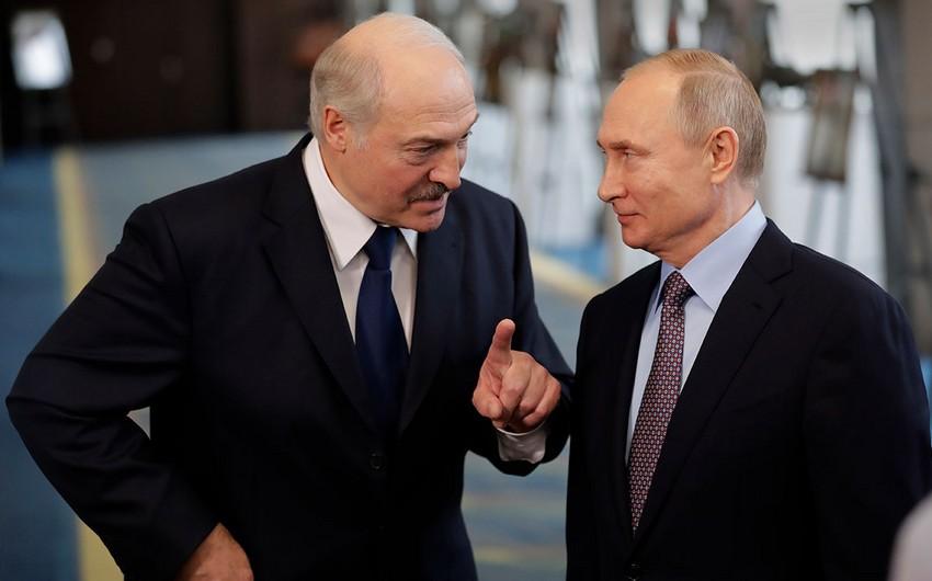 Putin və Lukaşenko Dağlıq Qarabağı müzakirə etdilər
