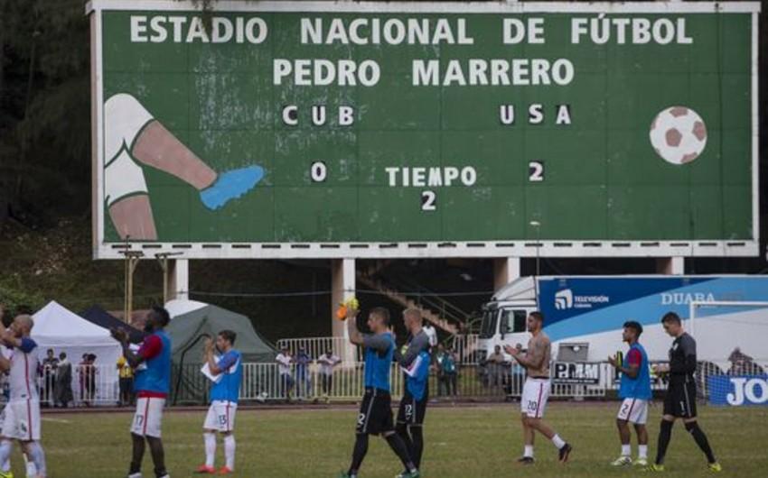 Сборные Кубы и США по футболу сыграли друг с другом впервые за 70 лет
