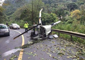 Çində helikopter qəzaya uğradı, ölənlər var