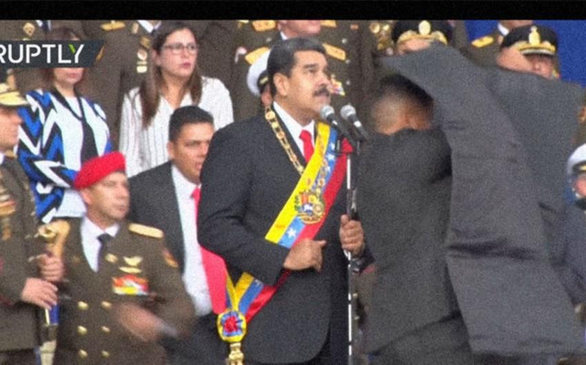 Venesuela prezidentinə sui-qəsd cəhdi ilə əlaqədar bir neçə nəfər saxlanılıb