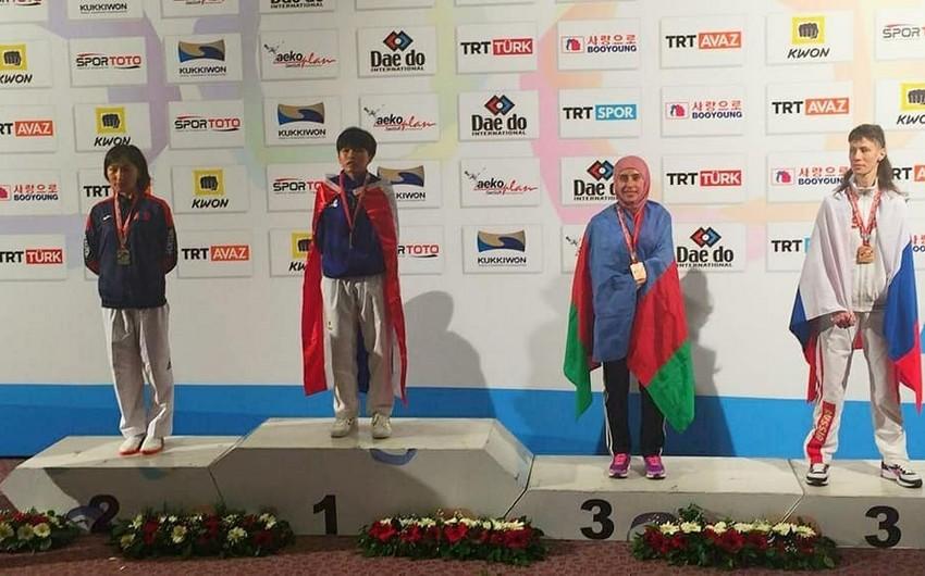 Azərbaycan parataekvondoçusu dünya çempionatında bürünc medal qazanıb
