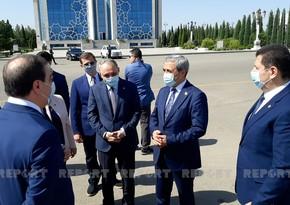 Генпрокуроры Азербайджана и Турции прибыли в Гянджу