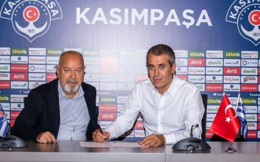Türkiyə klubu yeni baş məşqçi ilə anlaşıb