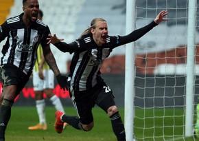 Beşiktaş Fənərbağça ilə matçda qələbəni əldən verdi
