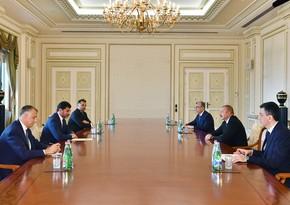 Президент Азербайджана принял мэра Тбилиси - ОБНОВЛЕНО