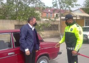 Zərdabda reyd keçirildi, 31 sürücü cərimələndi