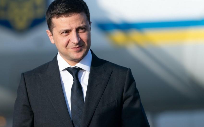 Ukrayna Prezidenti: Atəşlə məni salamlamaq istəyiblər