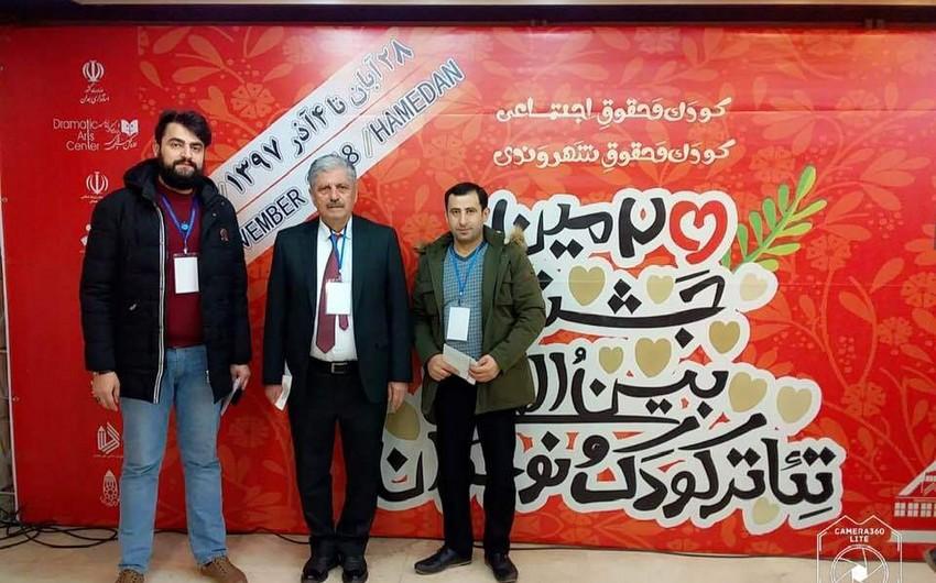 Lənkəran Teatrı Azərbaycanı İranda keçirilən beynəlxalq festivalda təmsil edib