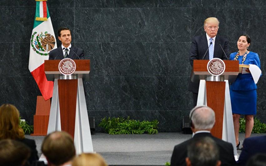 Meksika siyasətçiləri prezidentdən ABŞ səfərini ləğv etməyə tələb ediblər