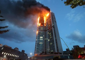 South Korea: Dozens hospitalized due to fire in high-rise building