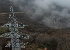Şuşaya yüksəkgərginlikli elektrik xətti çəkilir