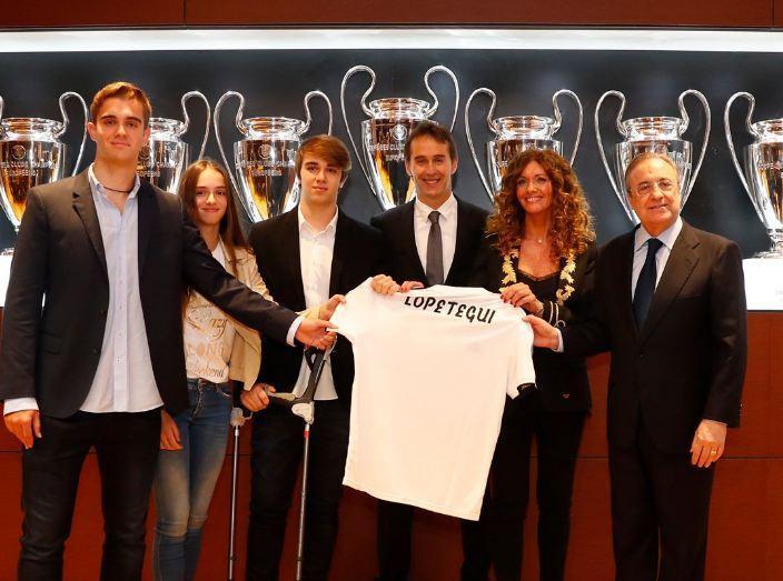 Реал представил Лопетеги в качестве нового главного тренера