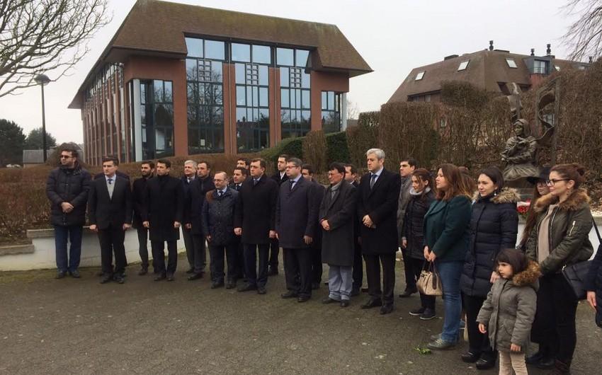 Xocalı soyqırımı qurbanlarının xatirəsi Belçikada anılıb