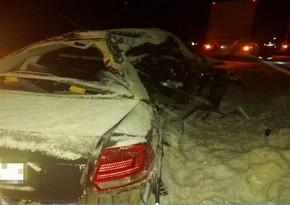 Rusiyada iki yol qəzası: 8 nəfər ölüb, 1 nəfər yaralanıb