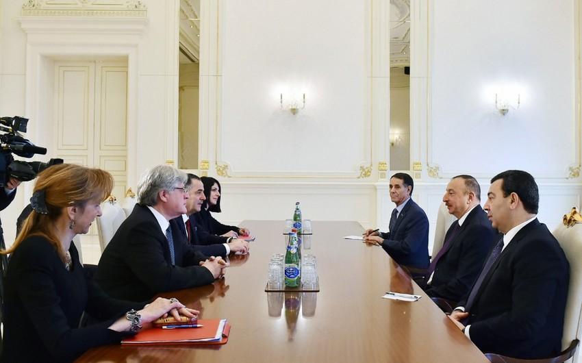 Prezident İlham Əliyev AŞPA-nın Monitorinq Komitəsinin həmməruzəçilərini qəbul edib - YENİLƏNİB