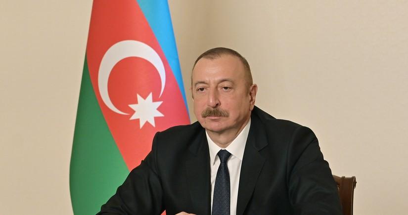 Azərbaycan Prezidenti: İsgəndər raketinin atılmasını görməmişik, bu boş sözdür